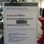 Öffentliche Sitzungen des Petitionsausschusses und Onlinepetionen für Berlin umgehend einführen