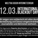 Welttag gegen Internetzensur 2013