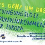 Grundeinkommen im Bundestag gibt's mit starken Grünen