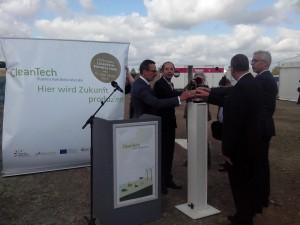 Eröffnung CleanTech Business Park Berlin