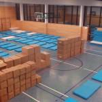 Willkommen in Marzahn: Neue Notunterkunft in der Marzahner Chaussee eingerichtet