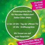 Bündnisgrünes Büro in Kaulsdorf – Einladung zur Eröffnung