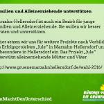 """Mehr """"Jule"""" für Marzahn-Hellersdorf – umfassende Unterstützung für junge Mütter oder Väter"""