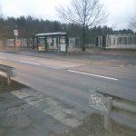 Neuer Fußgängerüberweg auf dem Weg von Biesdorf zum S Wuhlheide