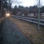 Fuß- und Radweg von Biesdorf zum S Wuhlheide