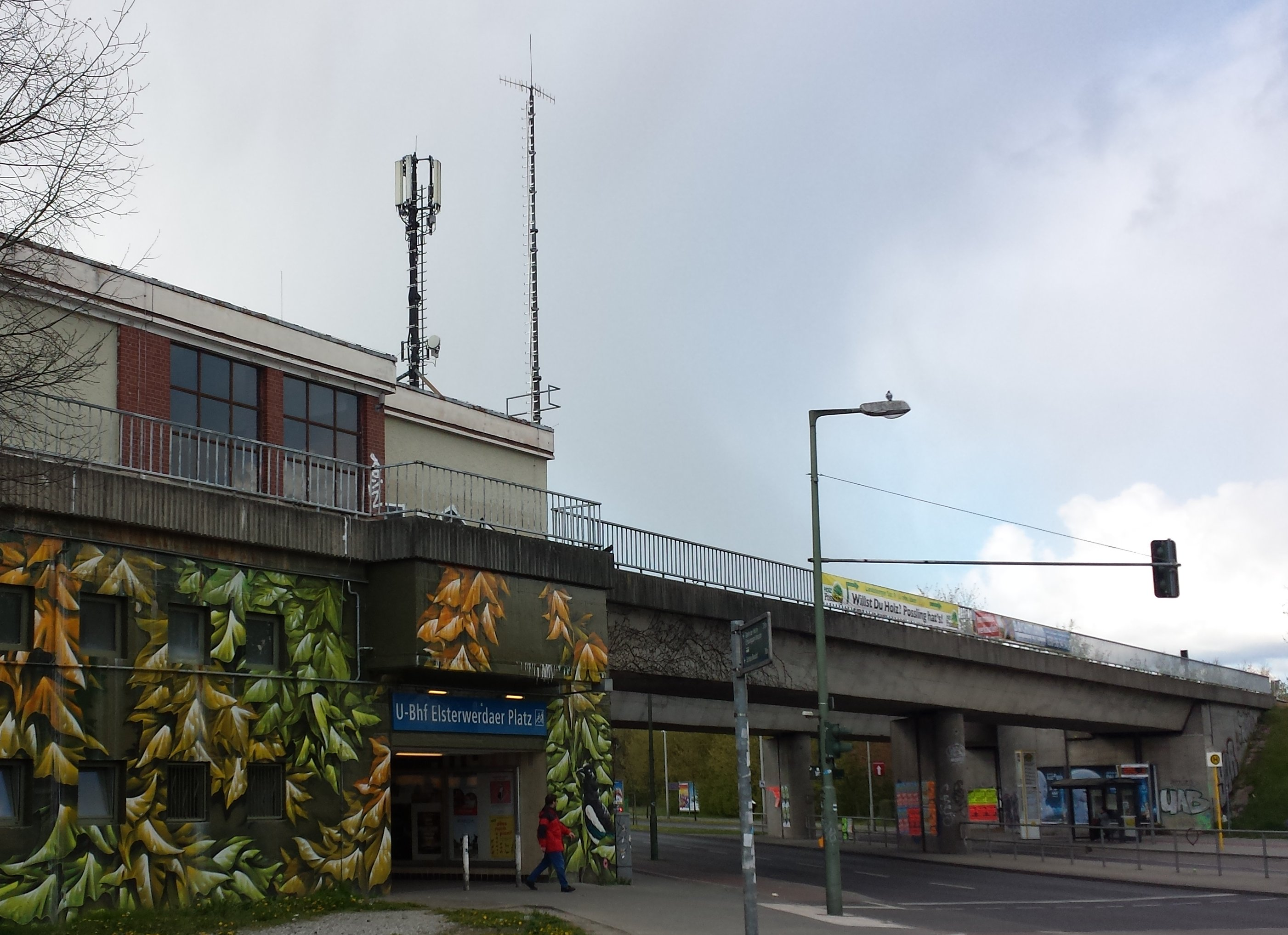 U-Bahnhof Elsterwerdaer Platz