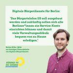 Digitale Bürgerdienste für Berlin