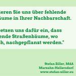 Wo fehlt ein Straßenbaum in Marzahn-Hellersdorf?