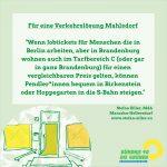 Verkehrslösung Mahlsdorf: Jobtickets für Berlin ABC