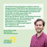 Schwerpunkt Armutsbekämpfung und neue Stadtbäume im Berliner Doppelhaushalt 2018/2019