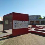 Städtebauliche Entwicklung auf dem Boulevard Kastanienallee in Hellersdorf