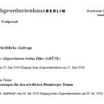 Blumberger Damm erhält neue Radwege