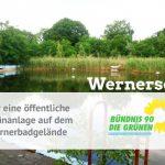 Nach Scheitern der Bebauung des Wernerbads – Nutzung als Grünanlage wieder eine echte Option