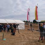 Grundsteinlegung für die neue Sekundarschule in Mahlsdorf