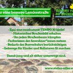Bezirksamt berichtet zur Ökologische Baubegleitung der Lemkestraße