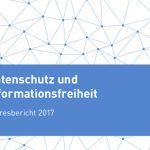 Debatte zur Stellungnahme des Senats zum Bericht der Datenschutzbeauftragten 2017