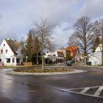 Hönower Straße: Umbau am Kreisel und Beseitigung von Stolpergefahren auf dem Fußweg