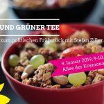 Müsli und Grüner Tee – Einladung zum politischen Frühstück in Januar