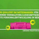 Mehr Qualität im Miteinander: für eine moderne Verwaltung und zukunftsorientierte Personalentwicklung in Berlin
