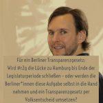 Transparenz in Berlin – warum wir ein Berliner Transparenzgesetz brauchen