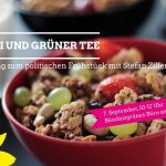 """Brunch der Stadtteilgruppe Mahlsdorf-Kaulsdorf –  """"Müsli und Grüner Tee"""" im Büro in Kaulsdorf"""