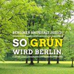 Haushalt 2020/21: So grün wird Berlin