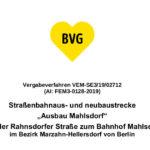 Nächste Etappe für Verkehrslösung Mahlsdorf