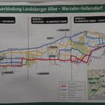 Informationen zum Verkehrsknoten Marzahn und zur neuen Radschnellverbindung Ost