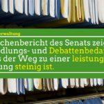 """Verfassungsdebatte nach ernüchterndem Zwischenbericht zur Umsetzung des """"Zukunftspaktes Verwaltung""""?"""