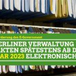 Planungen für die Evaluation des E-Government-Gesetzes Berlin