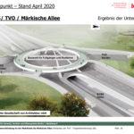 Planungsfortschritte für den Bau der Tangentialverbindung Ost (TVO)