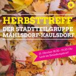 Zweiter Herbsttreff Mahlsdorf-Kaulsdorf (online) am 21.10.2020