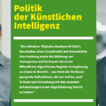 Politik der Künstlichen Intelligenz