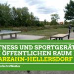 Fitness und Sportgeräte im öffentlichen Raum in Marzahn-Hellersdorf