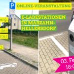 Einladung zum Onlinegespräch: Elektroauto und Ladeinfrastruktur in Marzahn-Hellersdorf