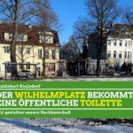 Öffentliche Toiletten für Wilhelmplatz in Kaulsdorf und S Mahlsdorf