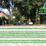 Tempo 30 für die Lemkestraße und Modellprojekt für baumfreundlichen Straßenbelag