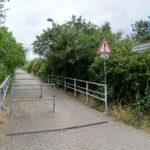 Brücke über die U5 am Grabensprung