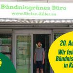 Einladung zum Bündnisgrünen Sommerfest und 5 jährigen Bürojubiläum