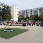 Übergabe der Außenanlagen der Grundschule am Bürgerpark